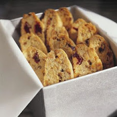 Hazelnut and Dried Cherry Biscotti