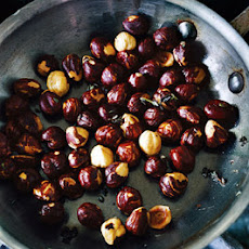 Roasted Hazelnuts with Thyme