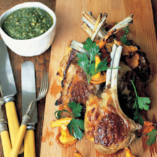 Best Lamb Cutlets With Special Basil Sauce