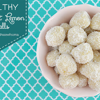 Healthy Coconut Lemon Balls
