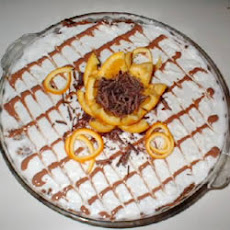 Orange-Chocolate Twist Cheesecake