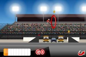 Screenshot of Long Jump Biker Free