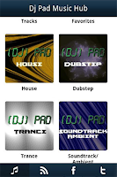 Screenshot of Dj Pad Music Hub