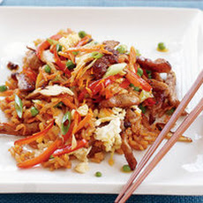 5-Vegetable Fried Rice with 5-Spice Pork