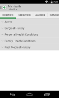 Screenshot of FollowMyHealth™ Mobile