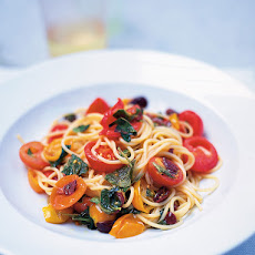 Simple Summer Spaghetti