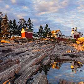 Pemaquid Point Lighthouse by Tom DiMatteo - Landscapes Travel ( point, maine, www.tomdimatteo.com, lighthouse, pemaquid )