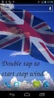 Screenshot of 3D UK Flag Live Wallpaper