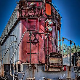 Illinois Railway by Ron Meyers - Transportation Trains