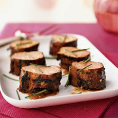 Fig and Chile-Glazed Pork Tenderloin