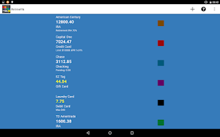 Screenshot of Checkbook Genius 3 App