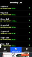 Screenshot of Call Recorder Phone,SkypeViber
