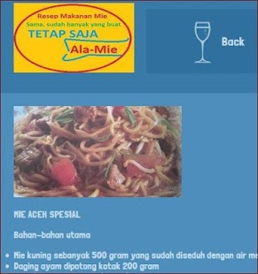 App Resep masakan mie APK for Windows Phone | Android ...