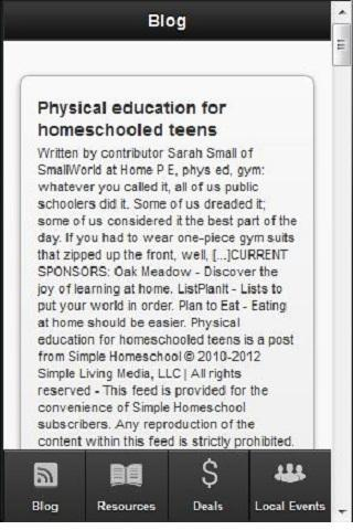 Free Home School Resources