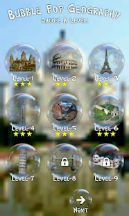 Pop Geography Kids Game Free - screenshot