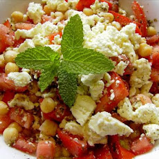 Chickpea, Cherry Tomato, and Feta Salad