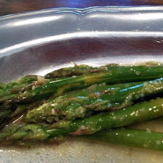 Asparagus Steamed With Lemon Butter