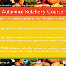 An Autumnal Butchery Course