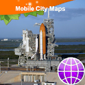 Titusville Cape Canaveral Map icon