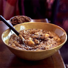 Five-Grain Cereal with Apricots, Apples, and Bananas