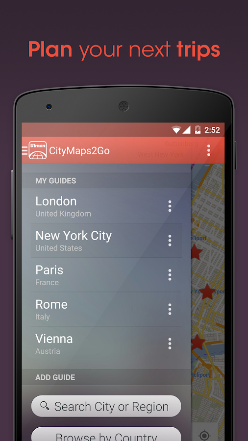 City Maps 2Go Pro Offline Maps Screenshot 2