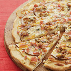 Bacon, Pear & Gorgonzola Pizza
