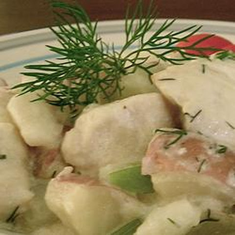 Dilly Chicken and Potatoes
