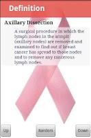 Screenshot of Breast Cancer Glossary Pro
