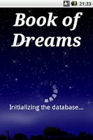 Screenshot of Book of Dreams (dictionary)