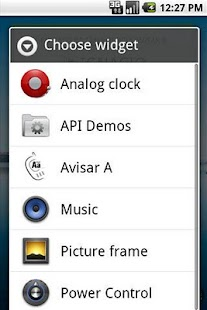 Avisar A Widget - screenshot