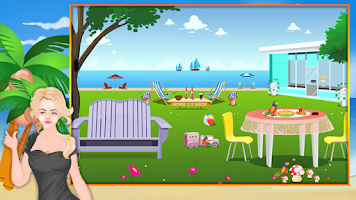 Screenshot of Seaside Room Escape