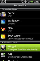 Screenshot of Flashlight Widget