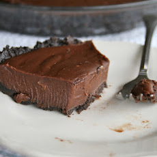 Double Chocolate Silk Cream Pie