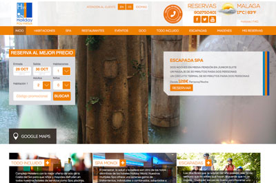 Neues Web Holiday Polynesia