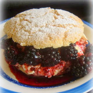 Blackberry and Clotted Cream Shortcakes