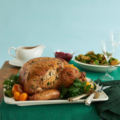 Citrus Herb-roasted Turkey & Port Gravy