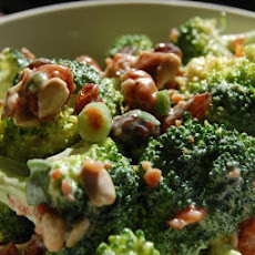 Beer-Nut Broccoli Salad