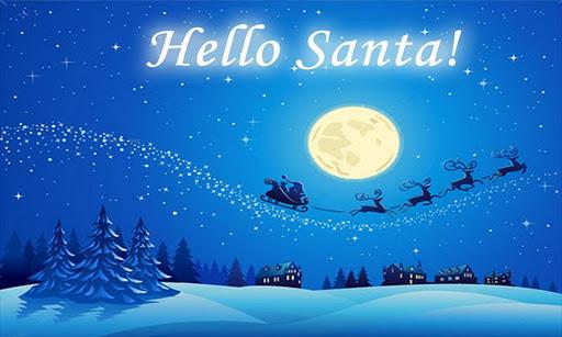 您好聖誕老人!