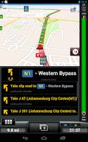 Screenshot of CoPilot Premium South Africa