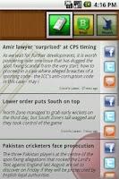Screenshot of Sports Eye Cricket Special