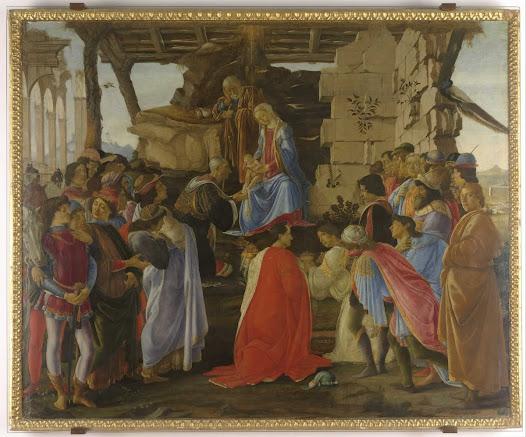 Botticelli Sandro, Adorazione dei Magi