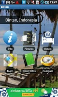 Screenshot of Bintan Riau Travel Guide