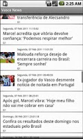 Screenshot of Vasco News