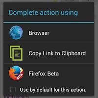 Screenshot of Copy Link to Clipboard