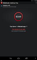 Screenshot of Bitdefender Antivirus Free