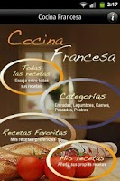 Screenshot of iCocinar Cocina Francesa