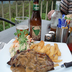 Minute Steak and Mushroom Sauce