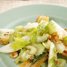 Roasted Parsnip, Celery Heart, and Apple Salad