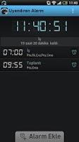 Screenshot of Uyandıran Alarm