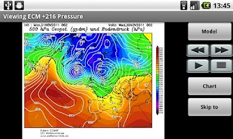 Screenshot of Weather Models